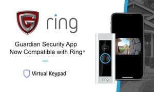 Guardian Virtual Keypad Integrates With Ring Doorbell